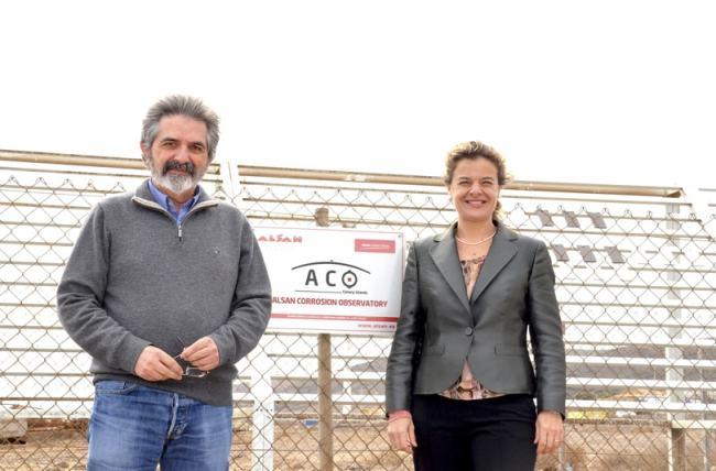 Inauguración ACO Alsan Corrosion Observatory